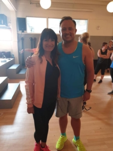 Helle Low og Thomas Evers til Zumba