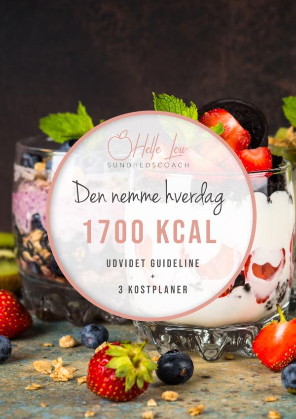 1700 kcal - Den nemme hverdag kostplan af Helle Low