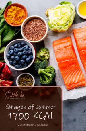 1700 kcal - Smagen af sommer kostplaner
